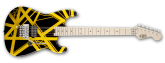 EVH - Stripe Series Electric Guitar - Black/Yellow