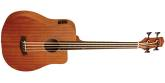 Gold Tone - Micro Bass 25 Fretless Cutaway Electric-Acoustic Bass wGigbag