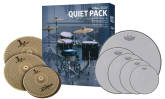 Zildjian - Zildjian/Remo Quiet Pack 3-Piece Cymbal Box Set with Silentstroke Drum Heads