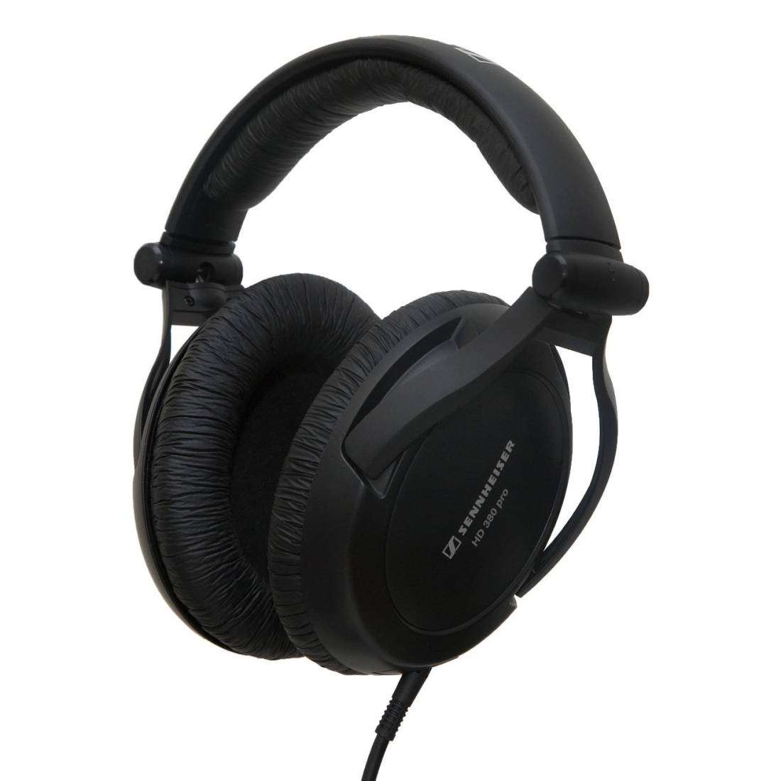 Sennheiser HD 380 PRO headphones: review, specifications and photos