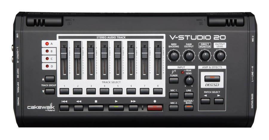 Roland Cakewalk V-Studio 20 Stereo Audio Interface - Long