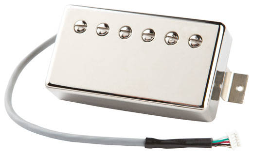 gibson burstbucker pro quick conmect neck pickup chrome long mcquade musical instruments. Black Bedroom Furniture Sets. Home Design Ideas