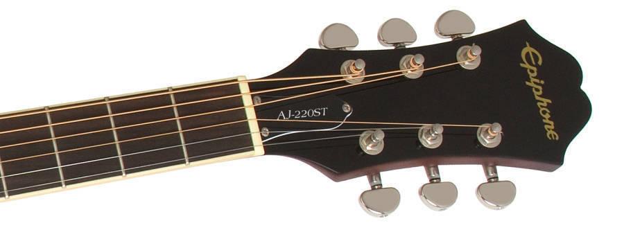 epiphone aj220st player pack vintage sunburst long mcquade musical instruments. Black Bedroom Furniture Sets. Home Design Ideas