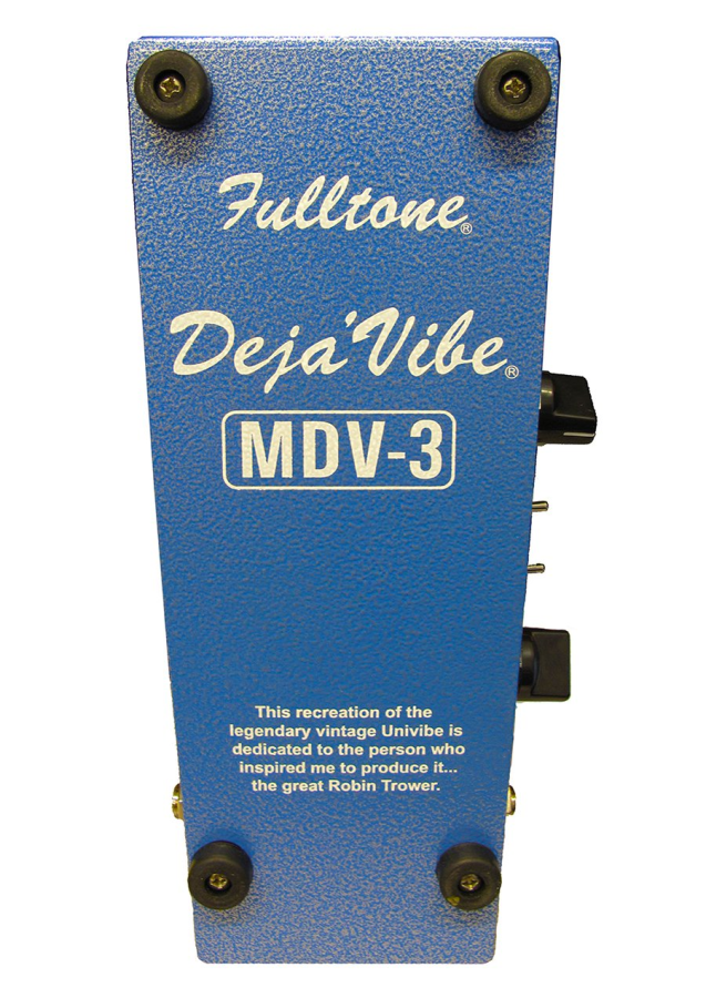 fulltone custom effects mini deja vibe 3 effects pedal long mcquade musical instruments. Black Bedroom Furniture Sets. Home Design Ideas