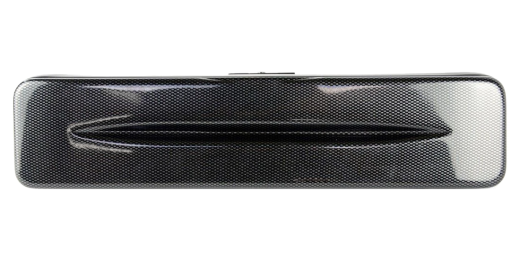 Hightech Flute Case (C-Foot) - Black Carbon