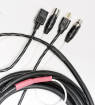 XLR and AC Cable for Active PA Cabinets - 25 foot