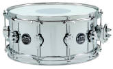 Drum Workshop - Performance Series Chrome over Steel Snare Drum - 8 x 14 inch