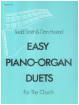 Hope Publishing Co - Easy Piano-Organ Duets - Hustad/Smith - Piano/Organ - Book