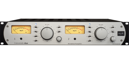 Crescendo Duo 2-Channel Microphone Preamplifier