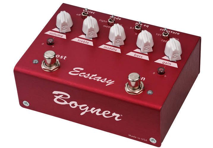 2018 sneakers lower price with the best attitude Ecstasy Red Overdrive Pedal