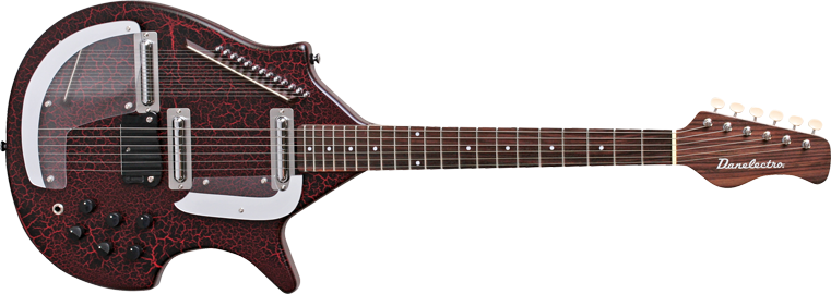 danelectro electric sitar red long mcquade musical instruments. Black Bedroom Furniture Sets. Home Design Ideas