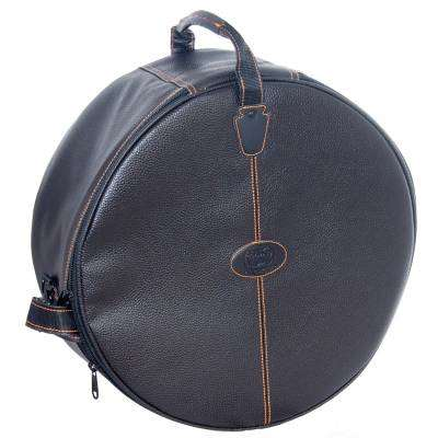 ludwig drums heirloom snare drum bag w keystone badge 7 x 14 black long mcquade musical. Black Bedroom Furniture Sets. Home Design Ideas