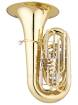 Eastman Winds - CC Compact Tuba with 4 Front Pistons and 19 Bell - Lacquer