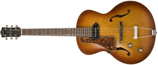 5th Ave Kingpin with P90 - Cognac Burst (Left Handed)
