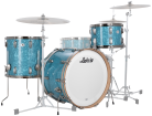 Ludwig Drums - Vintage Select Series Classic Maple Fab 3-Piece Shell Pack (22/13/16) - Glacier Blue