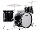 Ludwig Drums - Legacy Mahogany Shell Pack (22,13,16F) - Black Cat