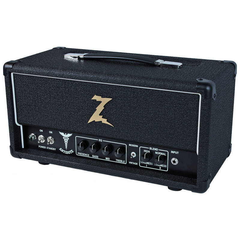 dr z antidote guitar amp head black long mcquade musical instruments. Black Bedroom Furniture Sets. Home Design Ideas