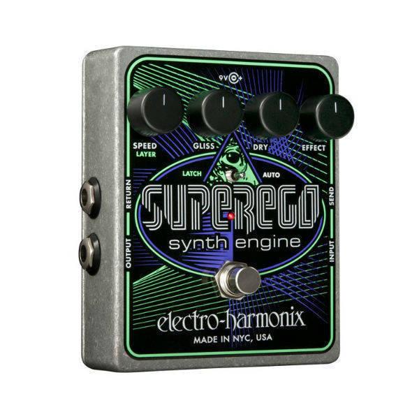 Electro-Harmonix - Superego Synth Engine Pedal