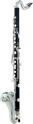 YCL221II Student Bass Clarinet with 2-Piece Body