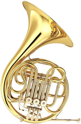 Standard - French Horn - Double - Clear Lacquer