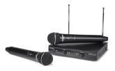 Samson - Stage 200 Dual-Channel Handheld VHF Wireless System - Channel-D