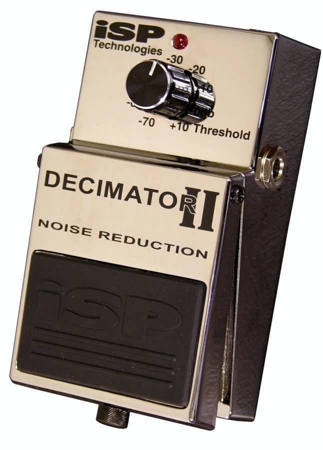isp technologies decimator 2 noise reduction pedal long mcquade musical instruments. Black Bedroom Furniture Sets. Home Design Ideas