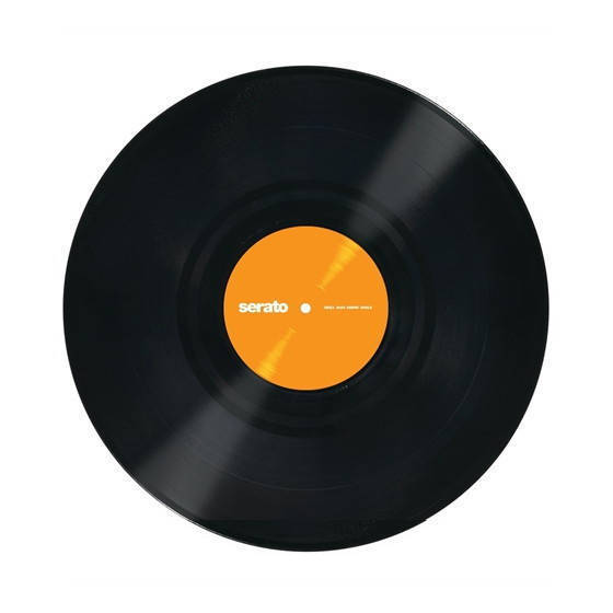 Serato Performance Series Vinyl Pressing Because Of