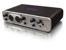 avid fast track duo audio interface w pro tools express education version long mcquade. Black Bedroom Furniture Sets. Home Design Ideas