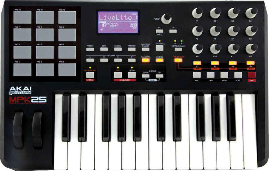 Portable Keyboard Controller w/MPC Pads