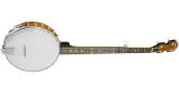 Gold Tone - CC-100+ Open Back Cripple Creek Banjo - Vintage Brown