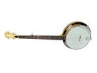 Gold Tone - Standard Cripple Creek Resonator Banjo - Left Handed - Vintage Brown