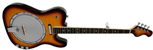 Electric Banjo - Two Toned Tobacco Sunburst