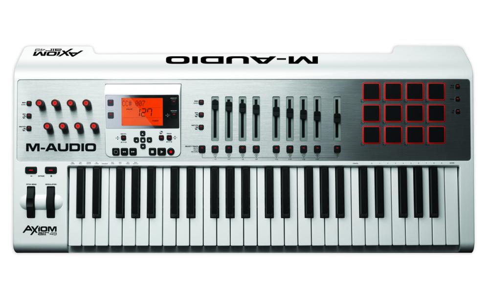m audio 49 key premium keyboard w controller pads long mcquade musical instruments. Black Bedroom Furniture Sets. Home Design Ideas