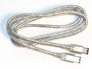 Link Audio 9-to 6-Pin FireWire 800/400 Cable - 10 foot