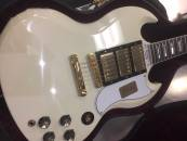 Gibson - SG Custom VOS Electric - Classic White - Gold Hardware