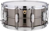 Ludwig Drums - Black Beauty Brass Snare Drum, 10 Lugs - 6.5x14