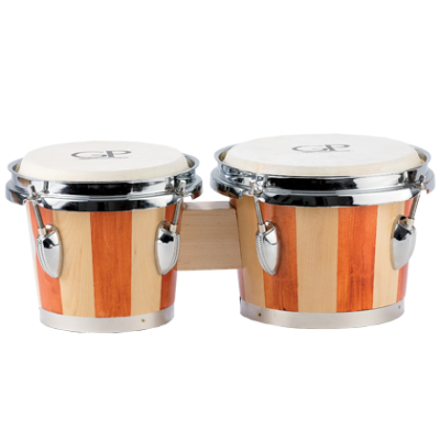 6'' & 7'' Bongo Set - Natural Finish