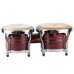 Granite Percussion - 7 & 8 inch Bongo Set - Red Finish