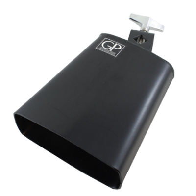 5 inch All Metal Cowbell - Black