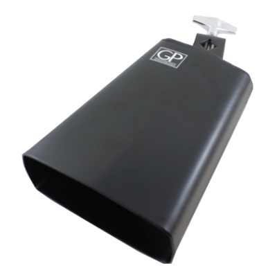 6 inch All Metal Cowbell - Black
