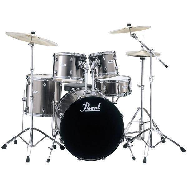 Pearl Forum 5-Piece Drum Kit With Cymbals & Hardware ...