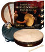 Waltons Irish Music - Traditonal Pack Classic Dark Brown Bodhran - 15 Inch