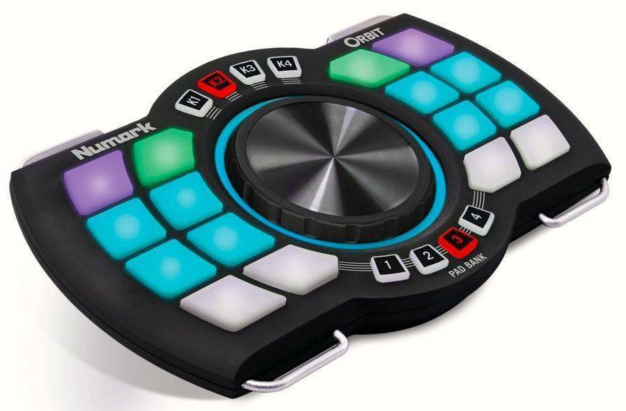 13e1dee8657 Numark Wireless DJ Controller With Motion Control - Long & McQuade ...
