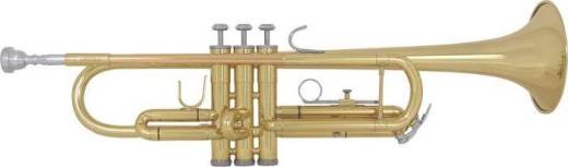 1st Hook ML Bore Lacquer Trumpet w/Case