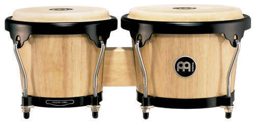 6de86be438fa Meinl Headliner Series Wood Bongo - Natural - Long   McQuade Musical  Instruments