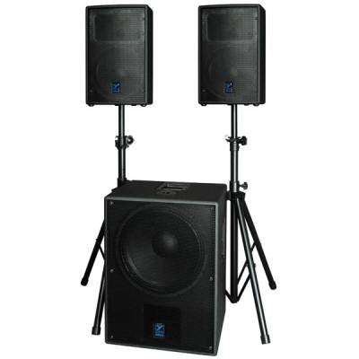 Elite Excursion System w/2 x 12 inch Satellites and 18 inch Sub