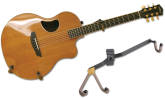 String Swing - Horizontal Acoustic Guitar Holder - Flatwall