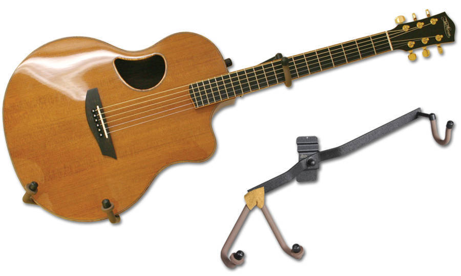 String Swing Horizontal Acoustic Guitar Holder Flatwall