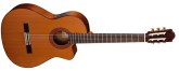 Almansa - A-403 Classical Guitar w/ Cutaway and Electronics - Cedar/Laminated Mahogany
