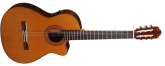 Almansa - A-435 Classical Guitar w/ Cutaway and Electronics - Cedar/Laminated Rosewood